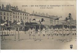 69 - LYON - T.Belle Vue Animée De La XXè Fête Fédérale De Gymnastique 1910 - L' Avenir Bugeysien - Autres