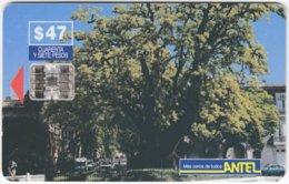 URUGUAY A-236 Chip Antel - Plant, Tree - Used - Uruguay