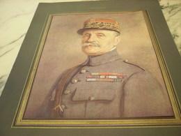 ANCIEN PORTRAIT DU MARECHAL FOCH 1918 - 1914-18