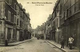 58 - SAINT PIERRE LE MOUTIER-RUE DE PARIS / A 490 - Saint Pierre Le Moutier
