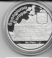 VATICANO ..-- BUONGIORNO  EUROPA . 1 OUNCE . ARGENT 999 / 1000 . - Monarchia/ Nobiltà