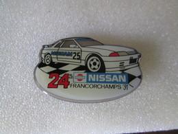 PIN'S   NISSAN  24 H FRANCORCHAMPS  91 - Rallye