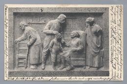 DE.- DE SÜNNDAGMORGEN. Relief Vom Klaus Groth Brunnen, No.2. 1914 Curt Baumgarten. Bildhauer Heinrich Missfeldt - Voorstellingen