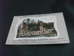 ALEXANDER NEUJAHR 1905 PIEGA ANG. - Cartoline
