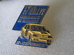 PIN'S   PEUGEOT  309  GTI  RALLYE  BETHUNOIS  92 - Rallye