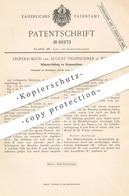 Original Patent - Leopold Klein , August Tscheschner , Wien / Österreich , 1891 , Kühlung An Gasmotor | Gas - Motor !!! - Historische Dokumente