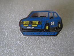 PIN'S     VOLKSWAGEN  GOLF   GTI    RALLYE  Equipage  MICHEL - Volkswagen