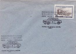1975 SPC COVER URUGUAY-PRIMERA PRUEBA INTERNACIONAL DE REGULARIDAD PORTO ALEGRE-MONTEVIDEO- BLEUP - Automobile