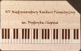 Telefonkarte Polen - Klavierwettbewerb - Poland