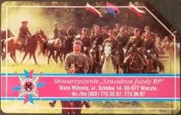 Telefonkarte Polen - Wesola - Uniform - Reiter - Poland