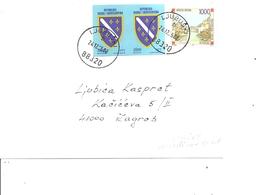 Bosnie -Herzégovine ( Lettre De 2008 De Ljubuski Vers Zagreb à Voir) - Bosnia Erzegovina