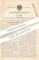 Original Patent - John Edward Thornycroft , Homefield , Chiswick , England , 1900 , Wasserröhrenkessel | Kessel !!! - Historische Dokumente