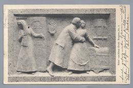 DE.- DE HEISTERKROG. Relief Vom Klaus Groth Brunnen No 5. 1914 Curt Baumgarten. Heinrich Missfeldt - Voorstellingen