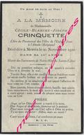 En 1920-Merris (59)  Cécile CRINQUETTE élève Pensionnat à Abeele (Belgique) 15 Ans - Décès