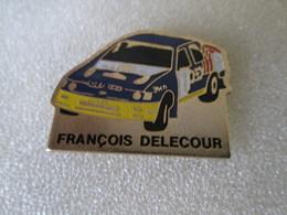 PIN'S   FORD  SIERRA  COSWORTH   RALLYE  FRANCOIS  DELECOUR - Rallye