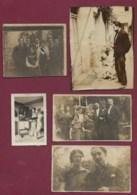180719 - Ensemble 13 PHOTO 1928 - BELGIQUE Artiste Peintre Illustrateur LUF LAFNET Avec Sa Femme Et Sa Fille - Personalidades Famosas