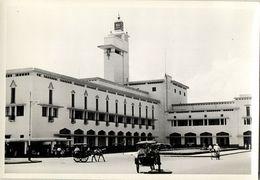 Indonesia, JAVA SOERABAIA, Kantor Gubernuran (1950s) Snapshot Real Photo - Indonesië