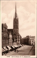 ! Alte Ansichtskarte Peine, Breitestrasse, St. Jacobikirche - Peine