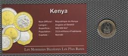 0019 - 'MONNAIES BICOLORES LES PLUS RARES' - Kenya - 10 Shillings - 2005 - Kenya
