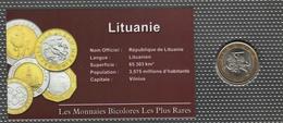 0020 - 'MONNAIES BICOLORES LES PLUS RARES' - Lituanie - 2 Litai - 2002 - Lituanie