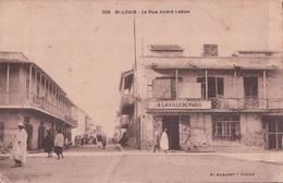 St-LOUIS La Rue André Lebon (A LA VILLE DE PARIS) - Senegal