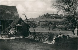 Ansichtskarte Bad Brückenau Bauernhaus Blick Auf Kloster Volkersberg 1933 - Deutschland
