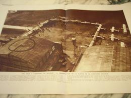 ANCIENNE PUBLICITE UNE FETE A L AEROPORT DU BOUGET 1929 - Advertisements