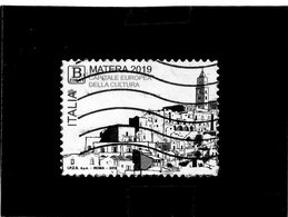 2019 Italia - Matera  Capitale Europea Della Cultura - 6. 1946-.. Repubblica