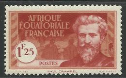 AFRIQUE EQUATORIALE FRANCAISE - AEF - A.E.F. - 1937 - YT 53** - A.E.F. (1936-1958)
