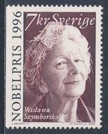 Sweden Sverige 2000 Mi 2200 SG 2120 ** Wislawa Szymborska, Poet Nobel Prize Literature (1996) / Polnische Lyrikerin - Nobelprijs