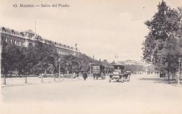 1920'S CPA SPAIN. MADRID. SALON DEL PRADO. HAE.- BLEUP - Madrid