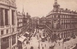 1900'S CPA SPAIN. MADRID. CALLE DE SEVILLA. GRAFOS.- BLEUP - Madrid
