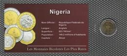 0023 - 'MONNAIES BICOLORES LES PLUS RARES' - Nigéria - 1 Naira - 2006 - Nigeria