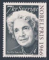 Sweden Sverige 2000 Mi 2201 SG 2121 ** Nelly Sachs, Poet - Nobel Prize Literature (1966) / Schriftstellerin / Auteur - Nobelprijs