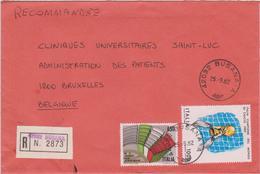 Busta Raccomandata / BUSANA-A >> Belgio - Belgique - 1946-.. République