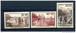 France  :  Yv  345-47  **      ,   N2 - Unused Stamps