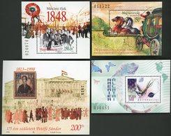 1998 Hungary / Magyar / Hongrie. Block BF N° 244 + 245 + 246 + ? / ** MNH / Catalog Price (cote) 11 € - Blocchi & Foglietti