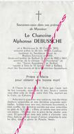 En 1969 Bailleul Roubaix Tourcoing Cambrai Morbecque (59)  Chanoine  Alphonse DEBUSSCHE - Décès