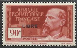 AFRIQUE EQUATORIALE FRANCAISE - AEF - A.E.F. - 1941 - YT 114** - MNH - A.E.F. (1936-1958)