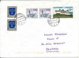 Slovakia Nice Cover Sent To Denmark 15-12-2001 - Slovakia