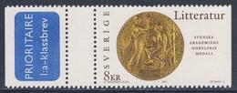 Sweden Sverige 2001 Mi 2227 SG 2161 ** Reverse Medal For Literature - Cent. Nobel Prizes / Medaille Literatur-Nobelpreis - Nobelprijs
