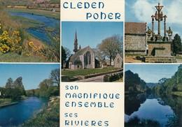 CP  CLEDEN POHER 29 FINISTERE - MULTIVUES - France