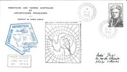 TAAF - Dumont D'Urville-T.Adélie: Lettre Avec Timbre N°152 Dumont D'Urville - 21/01/1993 - Lettres & Documents