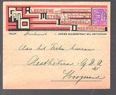 Algemene Metaal Industriële Onderneming Rotterdam Adrien Milderstraat 80B 1934  (FB-58) - Periode 1891-1948 (Wilhelmina)