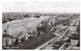 GOTEBORG-HAMNMOTIV-REAL PHOTO- VIAGGIATA 1954 - Svezia