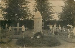 DOUCHY LES AYETTE  CARTE PHOTO ALLEMANDE  1915 - France