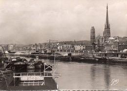Rouen - Les Quais Vus De L ' Ile Lacroix - Rouen