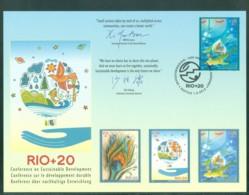 United Nations Vereinten Nationen UNO ONU 2012, FDC First Day Card, RIO+20 - Centre International De Vienne