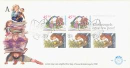 NETHERLANDS. FDC CHILDREN STAMPS. 1980 - Marcofilia