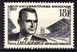 FRANCE 1957 -  Y.T. N° 1120 - NEUF** /2 - France